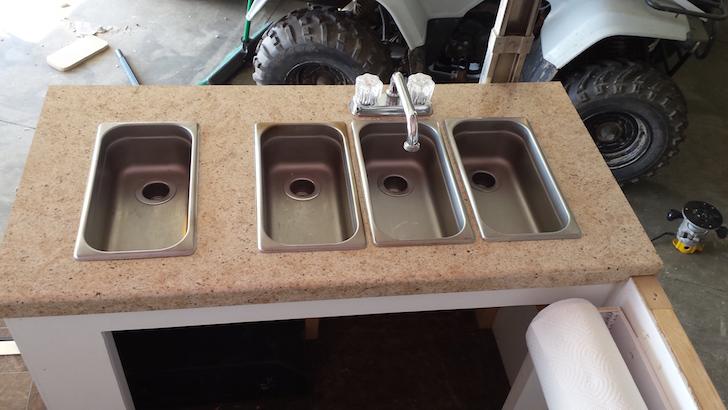 Individual sinks