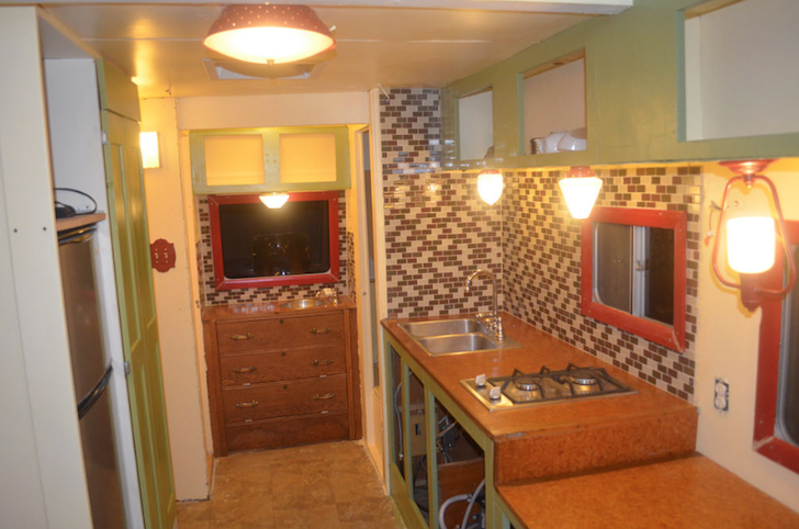 Odessa motorhome interior