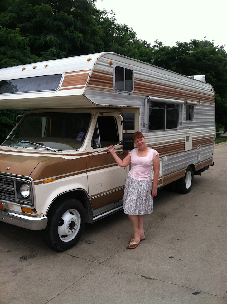1977 Ford Brougham Rv Tiny House Conversion