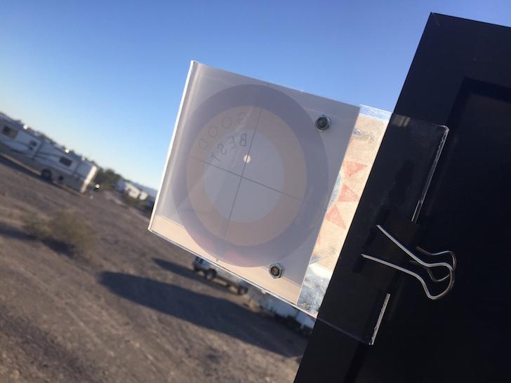 Positioning solar power panel