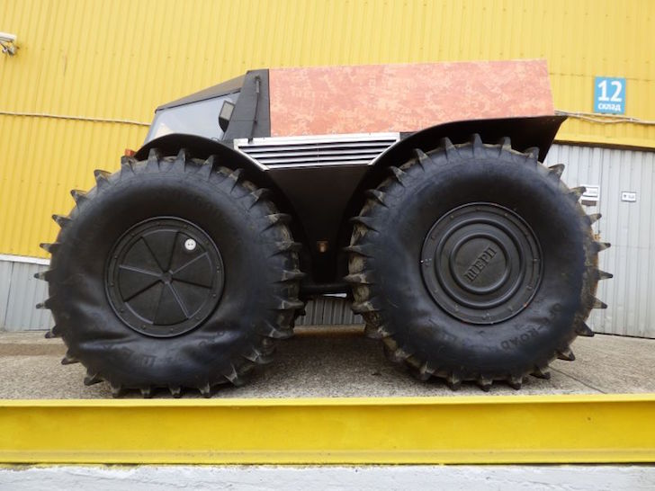 Sherp Atv For Sale >> Tank-Like Russian ATV With Self-Inflating Tires That Won't Break The Bank
