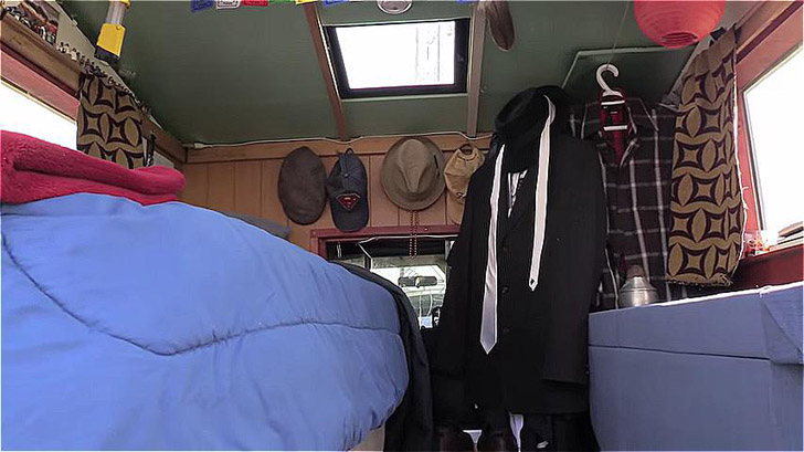 inside of truck