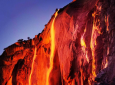 In February Yosemite's Horsetail Fall Looks More Like A Volcano Erupting [PHOTOS]