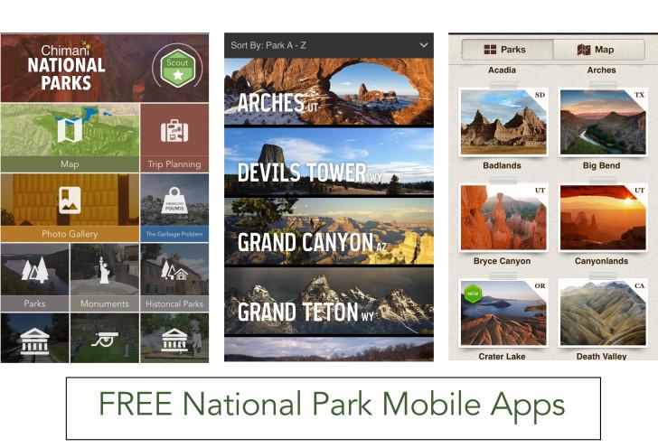 National Park Mobile Apps
