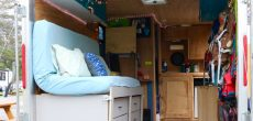 This Couple Sold Everything And Found Happiness In A Converted Utility Trailer