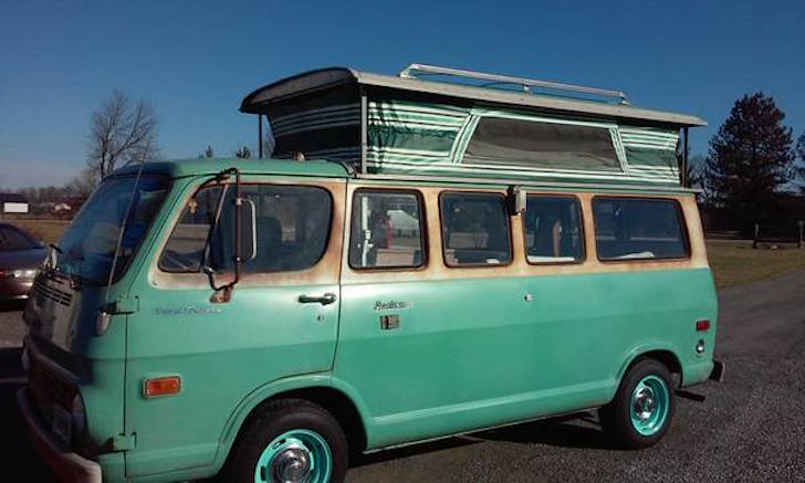 Vw Bus For Sale Craigslist >> Not A Volkswagen: 1968 Chevy Pop Top Camper