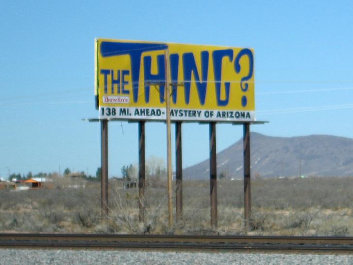 Arizona roadside attraction