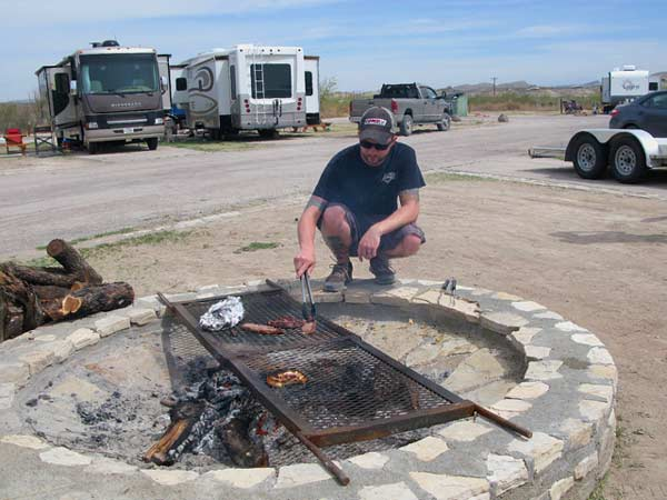 RV camping big bend