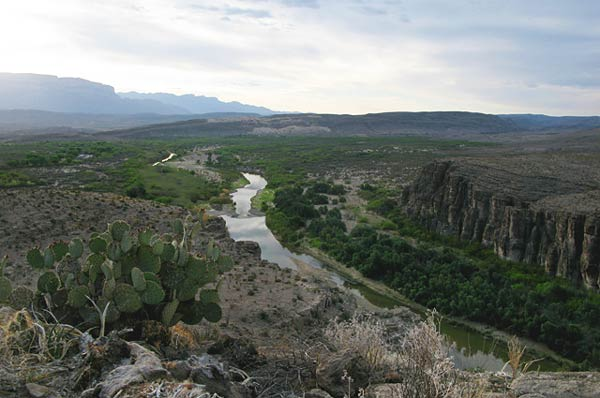 RV camping in the Big Bend