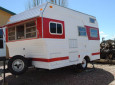 Red And White Coke-Themed Camper Offers Actionable Ideas For DIY Designs