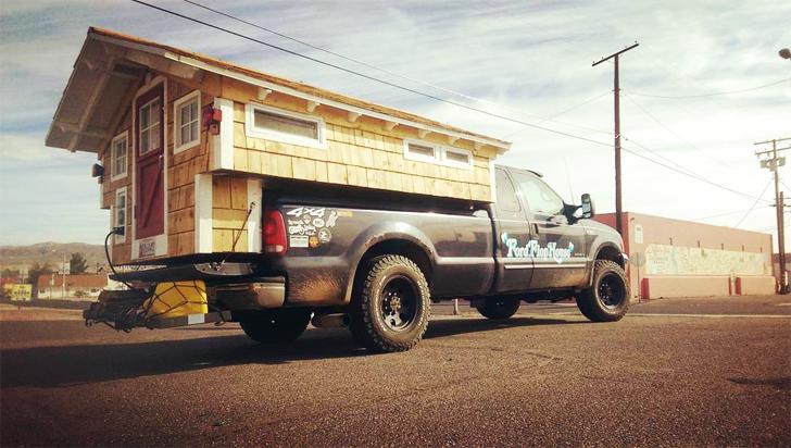 camper on truck