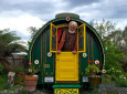 This British Puppeteer Builds Gypsy Wagons From Recycled Materials