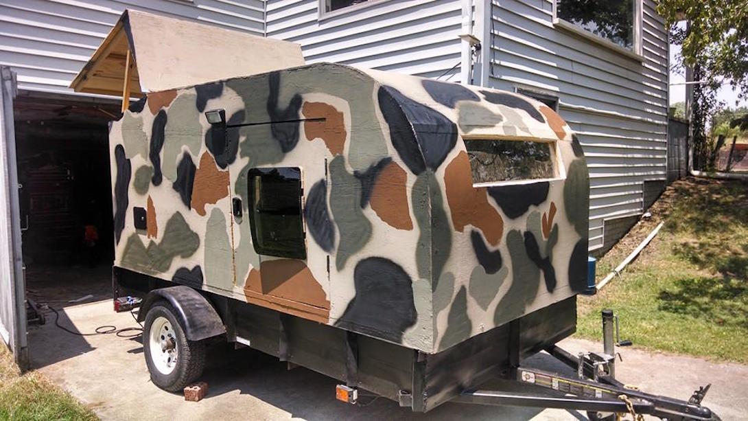 Camp DIY camper
