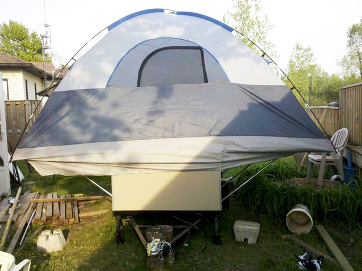rear view : home made tents - memphite.com