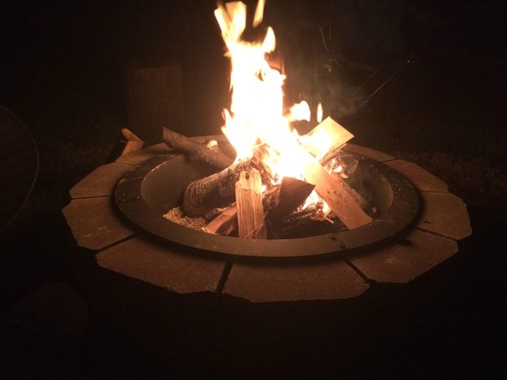 How to make a backyard fire pit for under 140