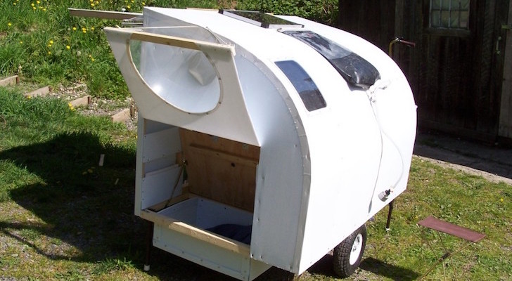 Burning Man Bicycle Camper Combines Art And Functionality