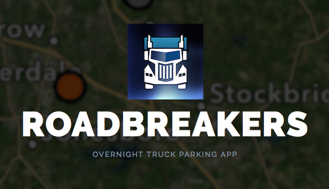App Shares Free Overnight Parking For Trucks and RVs
