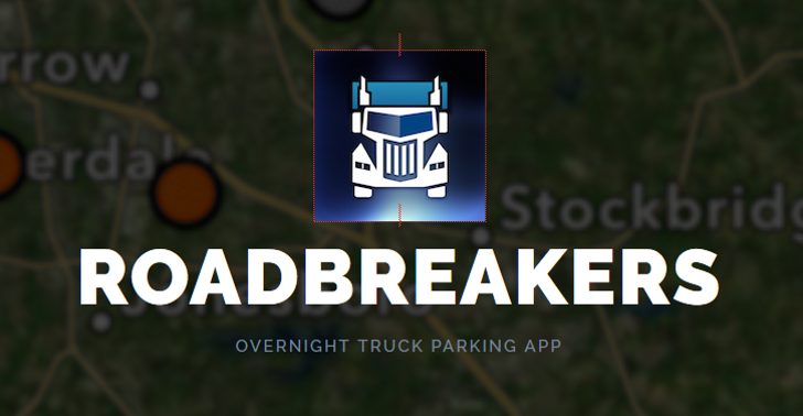 overnight parking for trucks and RVs
