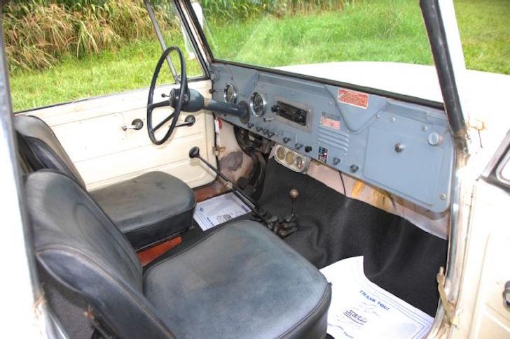 Scout camper cab