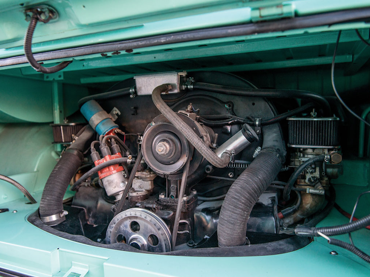 VW four cylinder engine