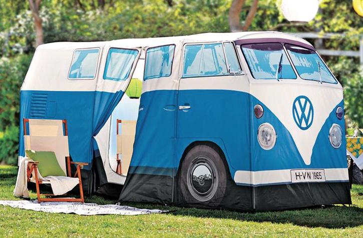 These Volkswagen Camper Van Tents Look Amazingly Life Like