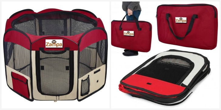 Zampa dog playpen