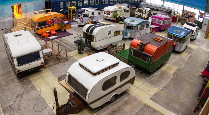 There's No Place In The World Quite Like This Vintage Trailer Hostel In Germany