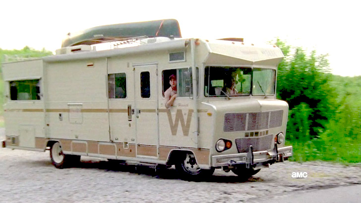 the winnebago side view