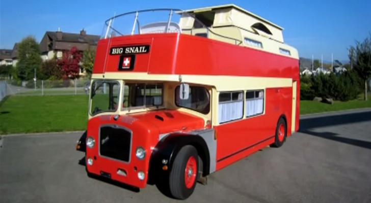 Want To See A Cool Double Decker Bus Conversion? I Couldn't Believe It!