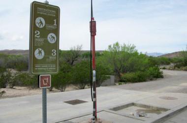 RV dump station etiquette