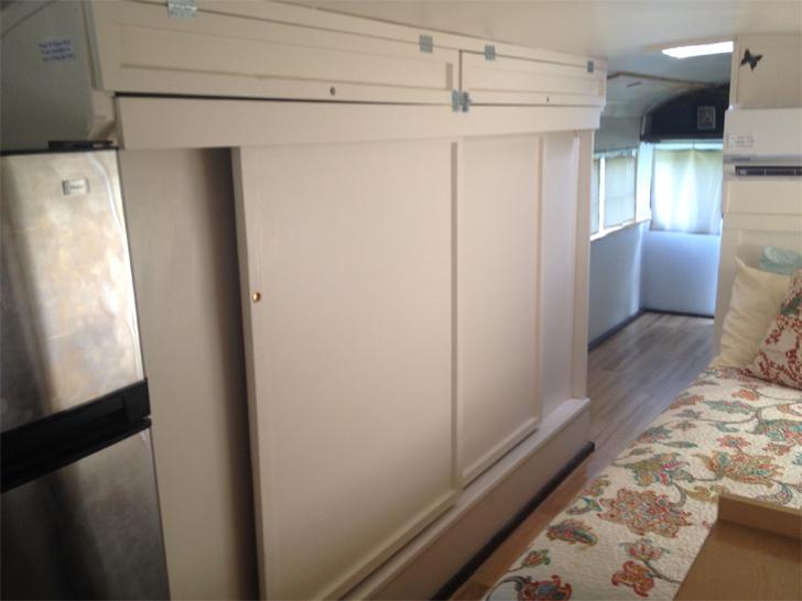 finished closet