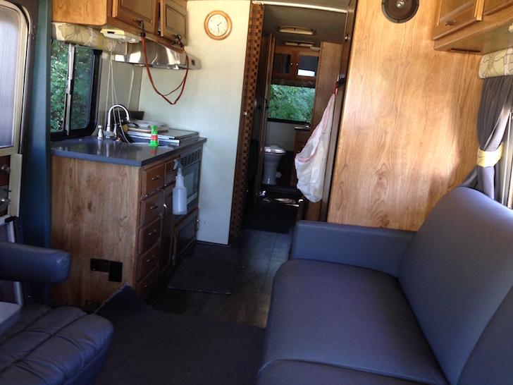 Amera Coach interior