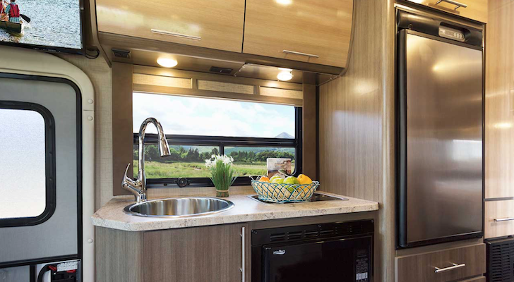 Who Makes Motorhomes Based On The Popular Ford Transit Chassis?