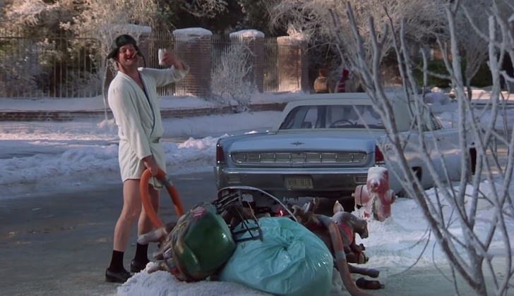 Cousin Eddie emptying tanks