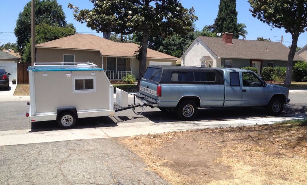 Picture Of The Day 700 DIY Micro Camper