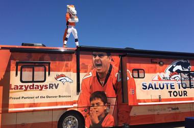 Denver Broncos Fans Get Some RV Love From Lazydays