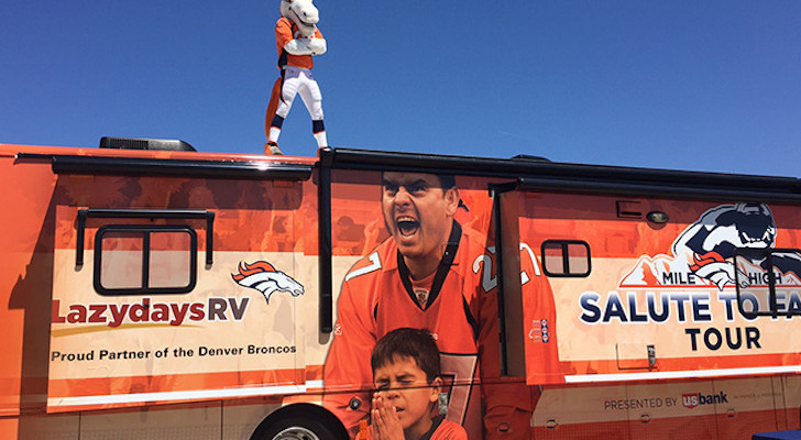 Denver Broncos Fans Get Some RV Love From Lazydays