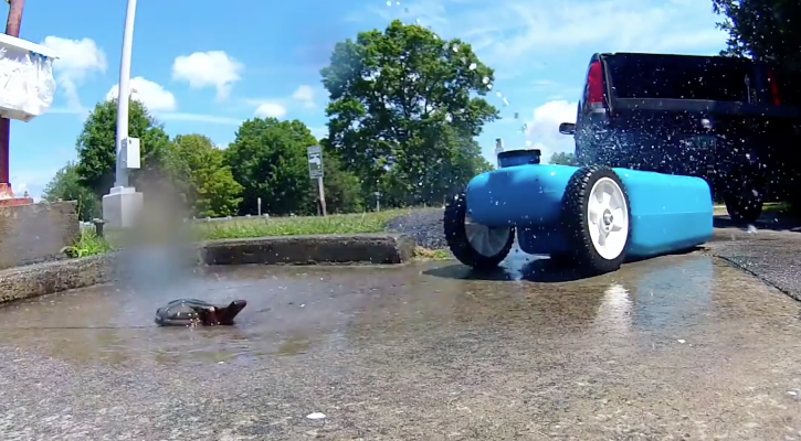 What Is A Blue Boy Waste Tank