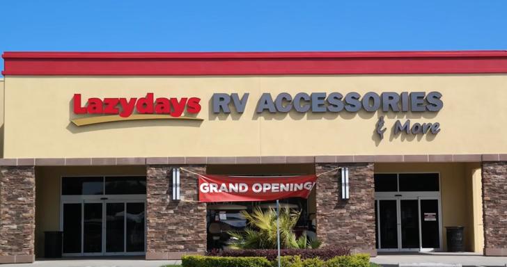 Review Of Lazydays RV Resort Near Tampa, Florida [VIDEO]