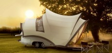 This Unique Camper Trailer Takes After The Sydney Opera House in Australia