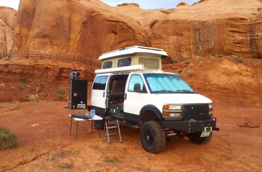 GMC Van Tricked Out For Off-Road Camping