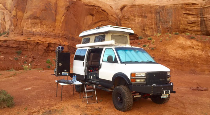 GMC Van Tricked Out For International Overlanding