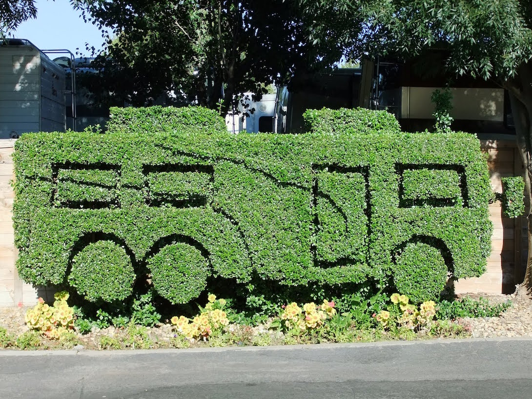 Topiary RV at Novato RV Park