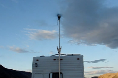 This RV Wind Turbine Runs More Quietly Than You'd Think