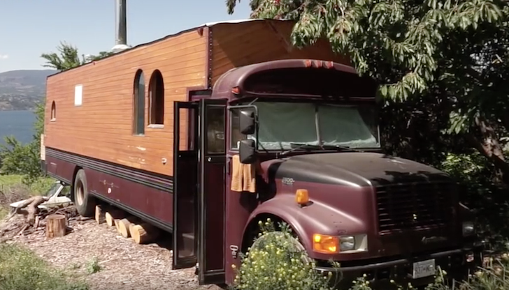 When You See This Tiny House School Bus You Ll Want To Move In