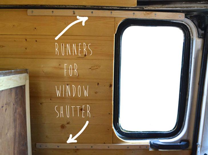 shutter rails