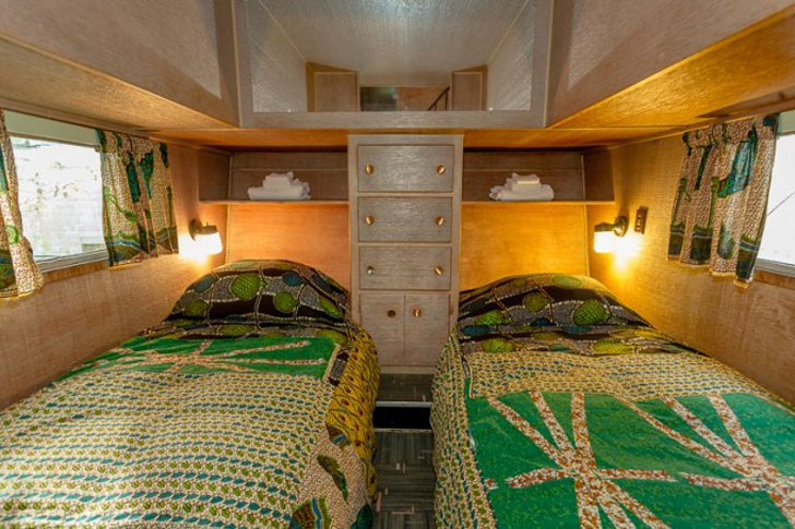 downstairs twin beds