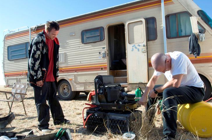 Breaking Bad Camping Car