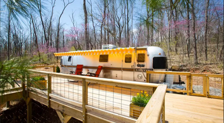 5 Awesome Backyard & Rooftop Airstreams