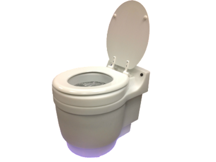 dry flush waterless toilet